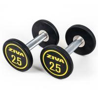 ZIVA Performance Rubber Dumbbell 2,5 kg