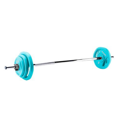 Studio Barbell 19.5kg Sets: 2 x1.25kg, 2 x 2.5kg,2 x5kg disc