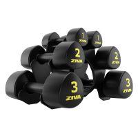 ZIVA Studio Tribell 12 kg Set (1, 2, 3 kg Pairs) w/Stand